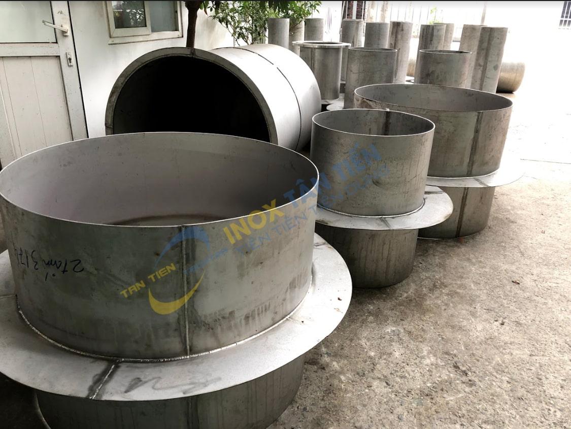 đường ống inox công nghiệp