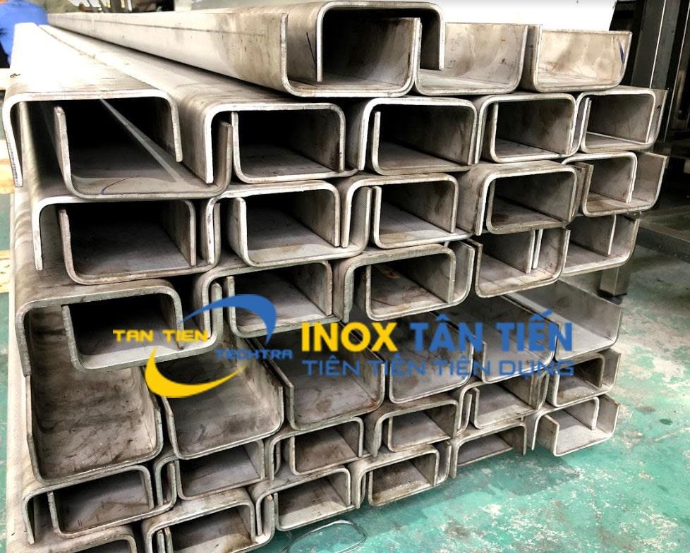 Thanh U inox